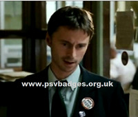 MM 59593 Actor Robert Carlisle who passed his PSV Driving Test for the film Carlas Song