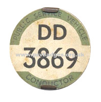 DD 3869 Early issue badge c1935