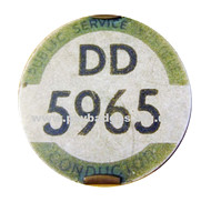 DD 5965 Early issue badge c1935