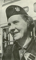 CC 31106 Oldham Corporation Passenger Transport Department Conductress Edith Powell