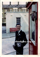 Ribble Motor Services Conductor Winston Barker,   from Morecambe depot. seen here in 1964.