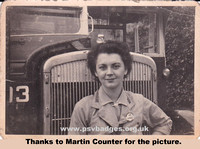 BB 14982 West Yorkshire Road Car company Conductress