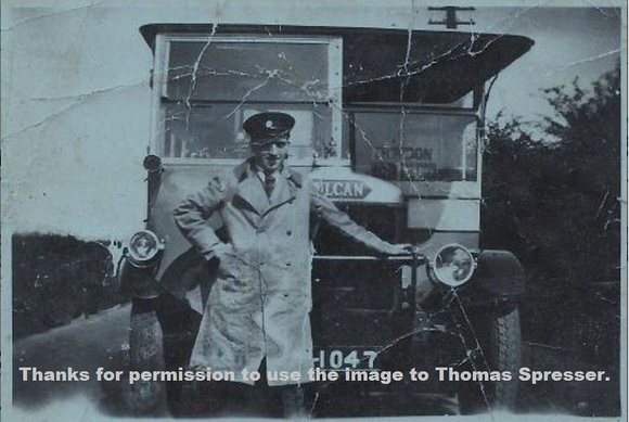 TMS (Trimdon Motor Services) Driver Fred Spresser. - Copy