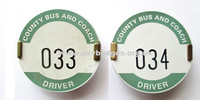 033 & 034 Country Bus and Coach Driver badges